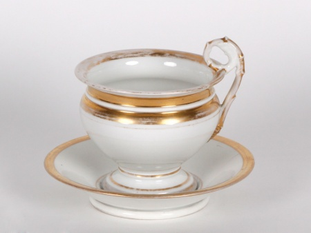 Porcelain Chocolate Cup. 19th Century - IB04447