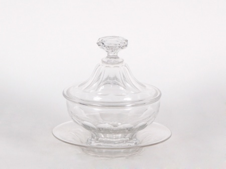 "Baccarat Covered Candy Bowl ""Compotier"" - IB04461"