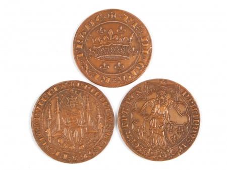 Three Bronze Medals. 20th Century - IB04484
