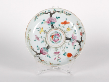 Chinese Porcelain Plate. 19th Century - IB04489