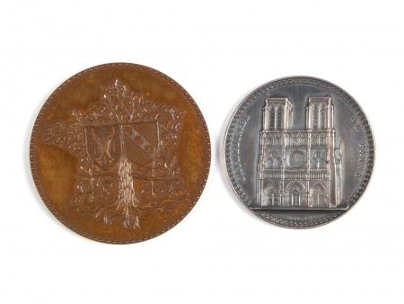 "Two ""Monnaies de Paris"" Medals - IB04499"