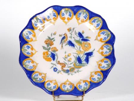 Plate in Martre Tolosane Earthenware. 19th Century - IB04525