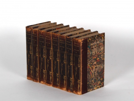 Collection of Plays by Meilhac and Halevy in Half-Leather Binding - IB04609