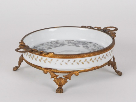 Sèvres Porcelain and Bronze Centerpiece - IB04674