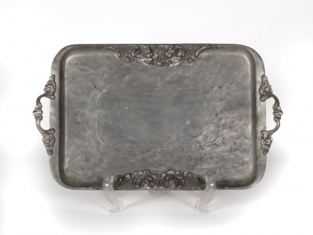 German Pewter Tray. Late 19th Century - IB04707