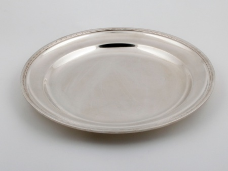 Wolff Platter in Silver Plated Metal - IB04711