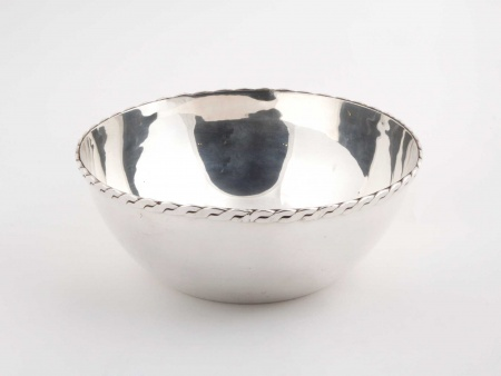 Salad Bowl in Silver Plated Metal - IB04723