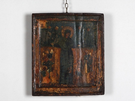 """Icon From The 17th Century """"Notre Dame des Dons"""" - IB04788"""