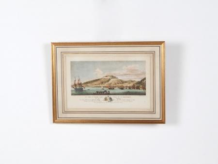 """Engraving """"Le fort Saint Pierre dans l"""