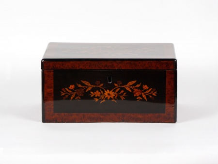 Old Burr Wood Box. Late 19th Century - IB05017