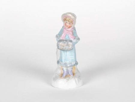 Biscuit-Glazed Sculpture. 19th Century - IB05070