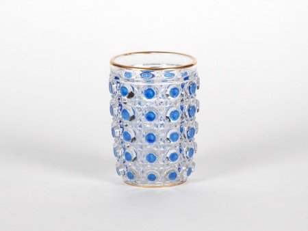 "Glass in Baccarat ""Diamant Pierreries Bleu"" - IB05126"