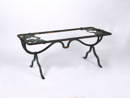 1970s Coffee Table in Wrought Iron - IB05186