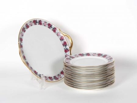 Chabrol & Poirier Porcelain Cake Set - IB05368