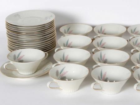 Soup Set in Bavarian Porcelain - IB05373