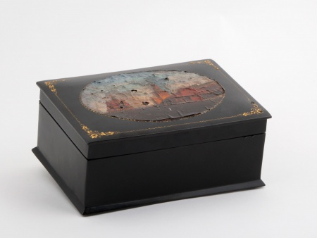 Russian Lacquered Box in Papier Mâché - IB05384