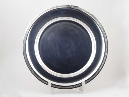 Mappin & Webb Plate in Silver Plated Metal - IB05434