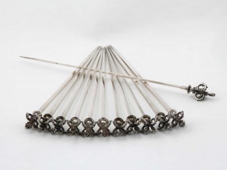 Twelve Skewers in Sterling Silver - IB05500