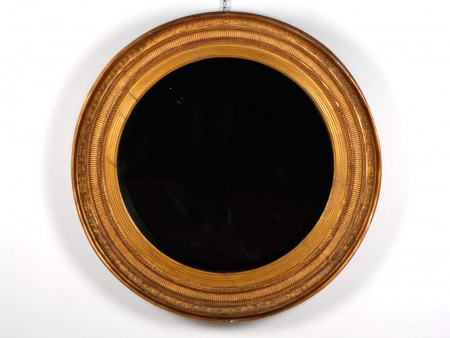 Mapple & Co. Mirror in Golden Wood - IB05647