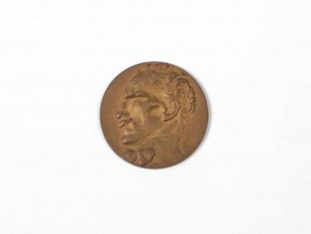 """ميدالية برونزية اصدار مون بلان"""" Montblanc"""". - IB05682"""