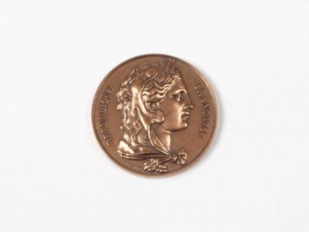 "Gayard Bronze Medal ""République Française Senat"" - IB05686"