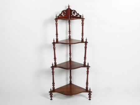 English Victorian Corner Shelves - IB05708