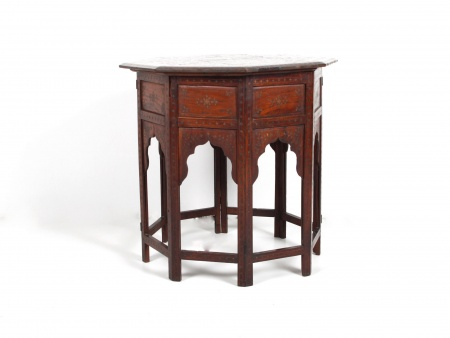 Victorian-Indian Folding Table - IB05714
