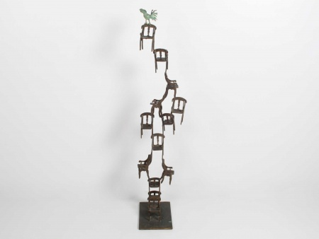 "Monkith Saaid ""Sculpture en Bronze"" - IB05729"