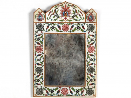 Spanish Mirror Oriental Inspiration. End of 19th Century - IB05781