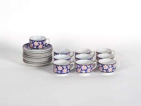 Japanese Porcelain Coffee Set - IB05795