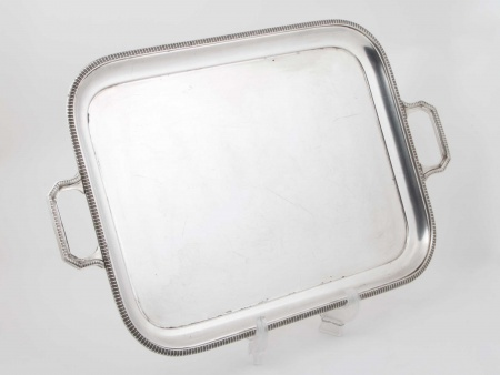 Mappin & Webb Silver Plated Metal Tray - IB05824
