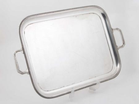 Mappin & Webb Silver Plated Metal Tray - IB05824