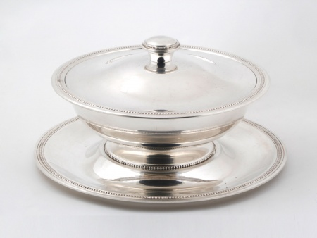Saint Médard Silver Plated Metal Tureen - IB05825