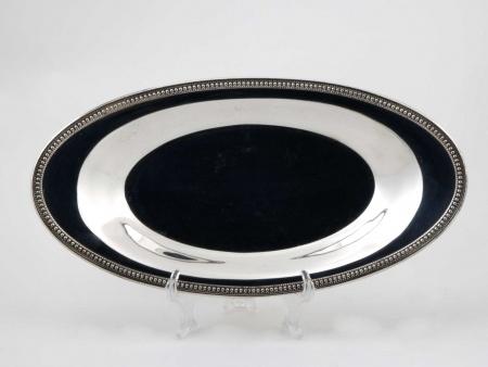 Oneida Silver Plated Metal Platter - IB05830