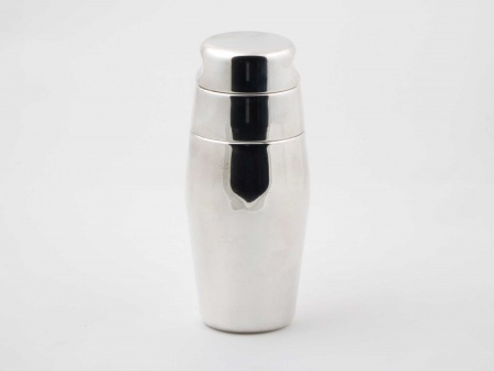 Alessi Silver Plated Metal Shaker - IB05833