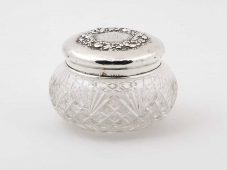 Mauser Manufacturing Company Sterling Silver Jar - IB05844