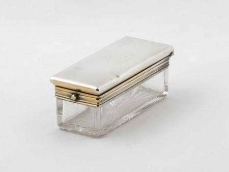 George Betjemann & Sons Silver Mounted Box - IB05845