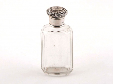 Sterling Silver Scent Bottle by Charles James Fox - IB05848