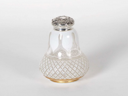 Silver Mounted Flask by Henry Matthews - IB05851