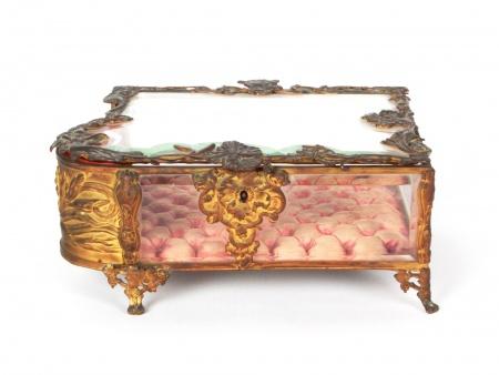 Large Art Nouveau Jewel Case - IB05876
