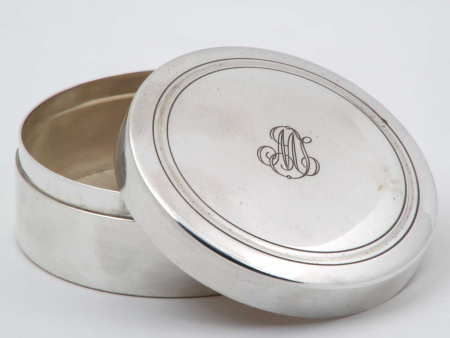 Puiforcat Silver Plated Metal Box - IB05898