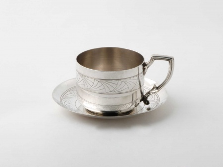 Art Nouveau Teacup - IB05916