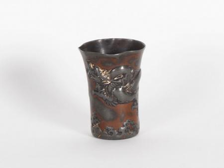 Pewter Chinese Beaker. 19th Century - IB05925