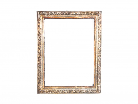 Frame in Silver Foil and Copper. 19th Century - IB05955
