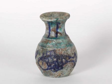 19th Century Glazed Terracotta Vase - IB06009