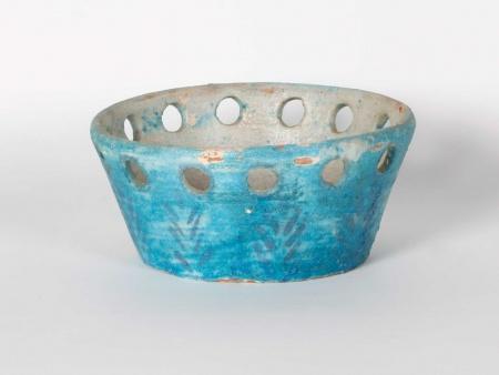 Oriental Bowl in Glazed Terracotta. 19th Century - IB06018