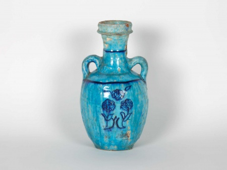 Islamic Amphora in Glazed Terracotta. 19th Century - IB06023