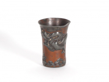 Chinese beaker in Pewter. End of 19th Century - IB06116