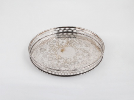 Sterling Silver Liners of Sheffield tray - IB06169