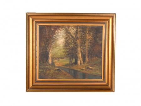 "Jean Baron: ""Forest Landscape"" - IB06325"